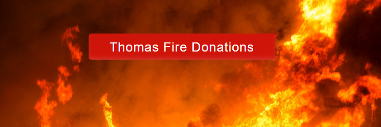 Thomas Fire Donations